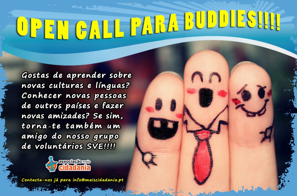 Open Call para Buddies