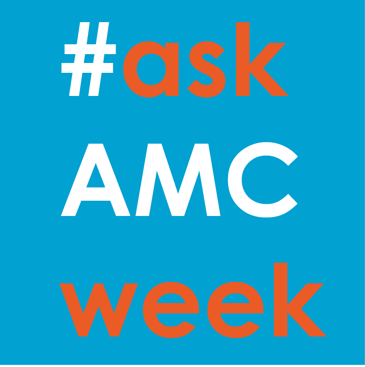 #askAMCweek | Envia-nos as tuas perguntas! | Send us your questions!