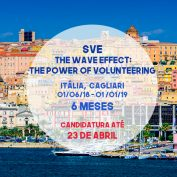 SVE |The wave effect: The power of volunteering | Itália | Cagliari | 6 meses | CANDITATURA ATÉ 23 de abril